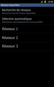 Samsung N7000 Galaxy Note - Réseau - utilisation à l'étranger - Étape 11