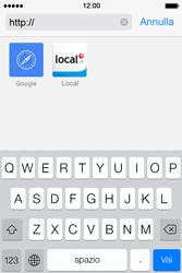 Apple iPhone 4S iOS 7 - Internet e roaming dati - uso di Internet - Fase 17