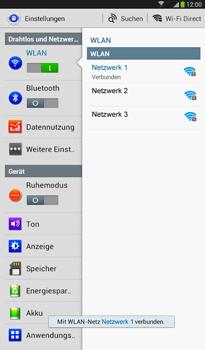 Samsung T211 Galaxy Tab 3 7-0 - WLAN - Manuelle Konfiguration - Schritt 7