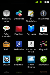 Alcatel OT-983 - Réseau - Sélection manuelle du réseau - Étape 5