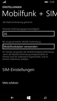 Microsoft Lumia 640 XL - Netzwerk - Netzwerkeinstellungen ändern - Schritt 7