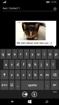 Microsoft Lumia 640 XL - MMS - Afbeeldingen verzenden - Stap 13