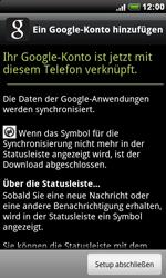 HTC Desire - Apps - Konto anlegen und einrichten - 0 / 0