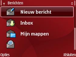 Nokia E63 - SMS - Handmatig instellen - Stap 5