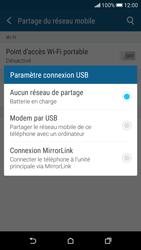 HTC Desire 626 - Internet et connexion - Utiliser le mode modem par USB - Étape 8