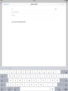 Apple iPad Pro 12.9 inch - E-Mail - E-Mail versenden - Schritt 4