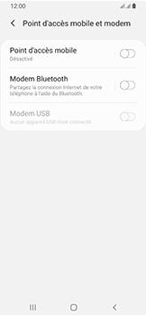 Samsung Galaxy A40 - Internet et connexion - Utiliser le mode modem par USB - Étape 6
