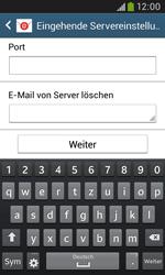 Samsung I9060 Galaxy Grand Neo - E-Mail - Konto einrichten - Schritt 10
