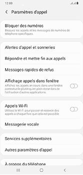 Samsung Galaxy A10 - Messagerie vocale - configuration manuelle - Étape 8
