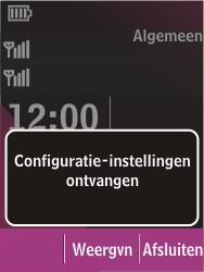 Nokia C2-03 - Internet - Automatisch instellen - Stap 3