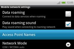 HTC A810e ChaCha - Internet - Manual configuration - Step 6