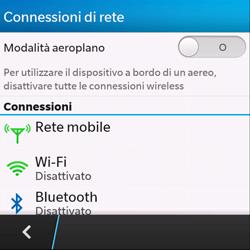 BlackBerry Q10 - Internet e roaming dati - Disattivazione del roaming dati - Fase 5