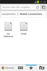 Samsung Galaxy Fame Lite - Internet und Datenroaming - Verwenden des Internets - Schritt 17