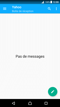 Sony Xperia Z5 Premium (E6853) - Android Nougat - E-mail - Configuration manuelle (yahoo) - Étape 5