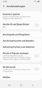 Samsung Galaxy S9 - Android Pie - WiFi - WiFi Calling aktivieren - Schritt 8