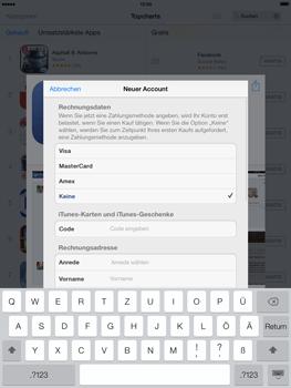 Apple iPad mini iOS 7 - Apps - Einrichten des App Stores - Schritt 18