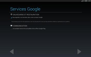 Samsung T805 Galaxy Tab S - Applications - Configuration de votre store d