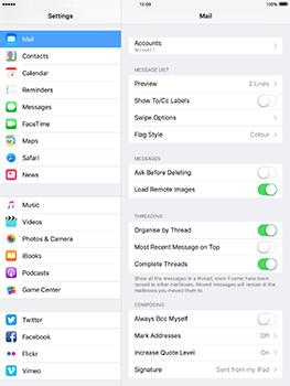 Apple iPad mini 4 iOS 10 - E-mail - Manual configuration - Step 18