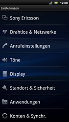 Sony Ericsson Xperia X10 - WLAN - Manuelle Konfiguration - Schritt 4