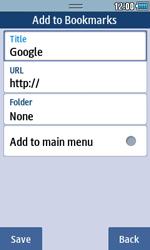 Samsung S5250 Wave 525 - Internet - Internet browsing - Step 5