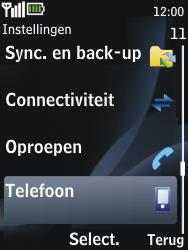 Nokia 2730 classic - netwerk en bereik - gebruik in binnen- en buitenland - stap 4