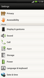 HTC Z520e One S - Voicemail - Manual configuration - Step 4
