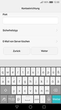 Huawei P9 Plus - E-Mail - Konto einrichten - Schritt 12