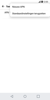 LG G6 H870 - Internet - Handmatig instellen - Stap 9
