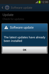 Samsung Galaxy Fame Lite - Software - Installing software updates - Step 9