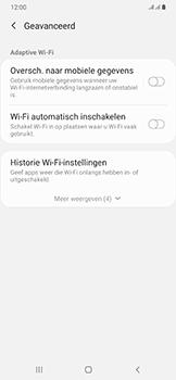 Samsung Galaxy A50 - wifi - schakel Wi-Fi Assistentie uit - stap 11