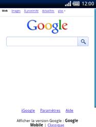 Sony Ericsson Xperia X10 Mini - Internet - navigation sur Internet - Étape 10