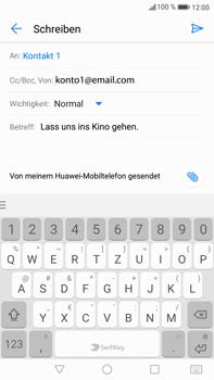 Huawei Mate 9 - E-Mail - E-Mail versenden - Schritt 9