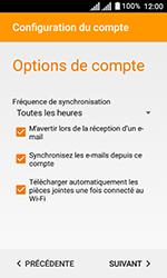 Alcatel U3 - E-mails - Ajouter ou modifier votre compte Yahoo - Étape 10