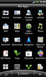 HTC Desire - SMS - Manuelle Konfiguration - 3 / 8