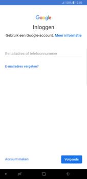 Samsung Galaxy Note9 - apps - account instellen - stap 5