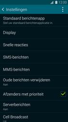 Samsung G900F Galaxy S5 - SMS - handmatig instellen - Stap 6