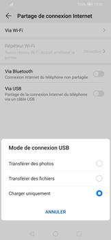 Huawei P Smart 2020 - Internet et connexion - Utiliser le mode modem par USB - Étape 6