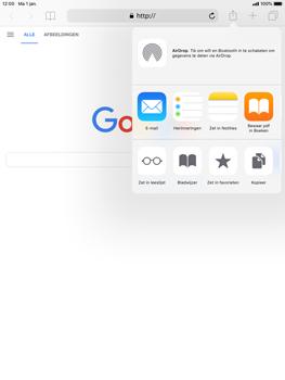 Apple ipad-air-met-ios-12-model-a1475 - Internet - Hoe te internetten - Stap 5