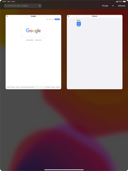 Apple iPad Pro 12.9 (1st gen) - ipados 13 - Internet et roaming de données - Navigation sur Internet - Étape 14
