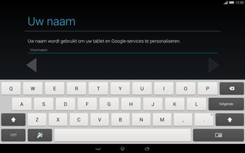 Sony Xperia Tablet Z2 4G (SGP521) - Applicaties - Account aanmaken - Stap 5