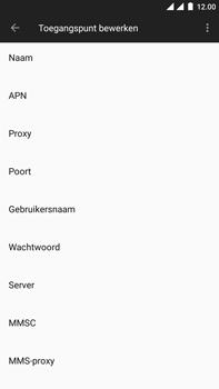 OnePlus 3 - Android Oreo - Internet - Handmatig instellen - Stap 10