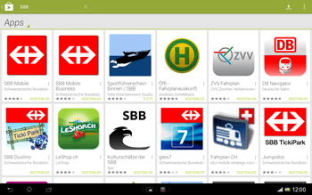 Sony Xperia Tablet Z LTE - Apps - Installieren von Apps - Schritt 21