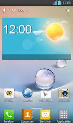 LG P710 Optimus L7 II - Voicemail - Handmatig instellen - Stap 1