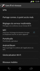 Sony Xperia V - Internet et roaming de données - Désactivation du roaming de données - Étape 5