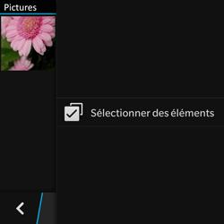 BlackBerry Q10 - Photos, vidéos, musique - Envoyer une photo via Bluetooth - Étape 6