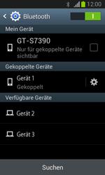 Samsung Galaxy Trend Lite - Bluetooth - Verbinden von Geräten - Schritt 8