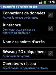 Samsung S5360 Galaxy Y - Internet - activer ou désactiver - Étape 6