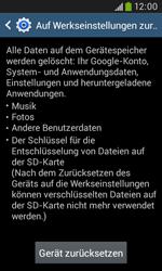 Samsung Galaxy Trend Plus - Fehlerbehebung - Handy zurücksetzen - 9 / 12