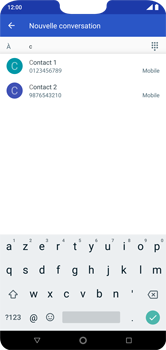 Nokia 7.1 - Contact, Appels, SMS/MMS - Envoyer un SMS - Étape 6