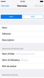 Apple iPhone SE - E-mail - Configuration manuelle - Étape 12